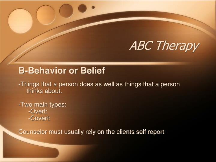 abc therapy Visit alternative back care physical therapy and join others, just like you, who   abc physical therapy • 3502 s 12th street, suite b • tacoma, washington.