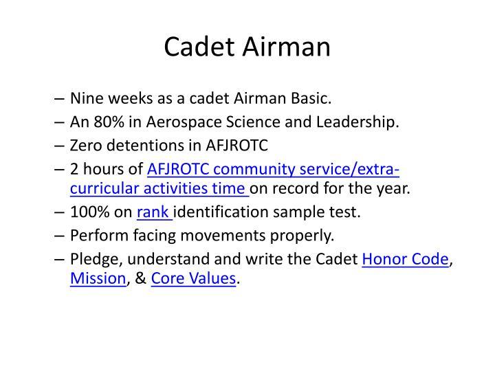Cadet Airman