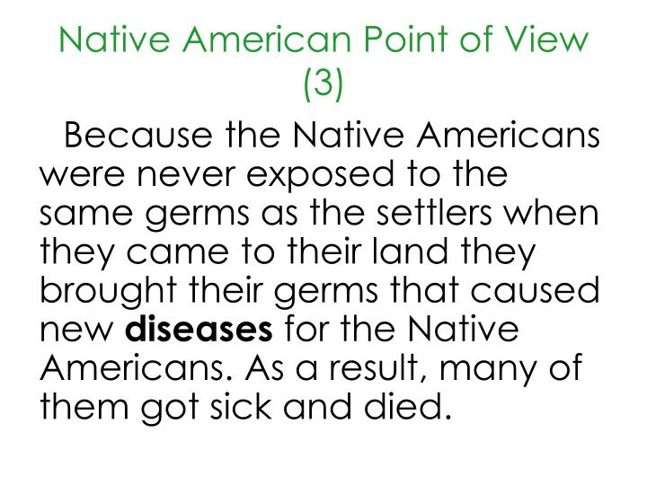 Native American Point of View (3)