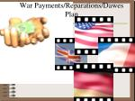 war payments reparations dawes plan