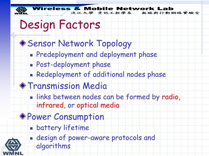 Design Factors