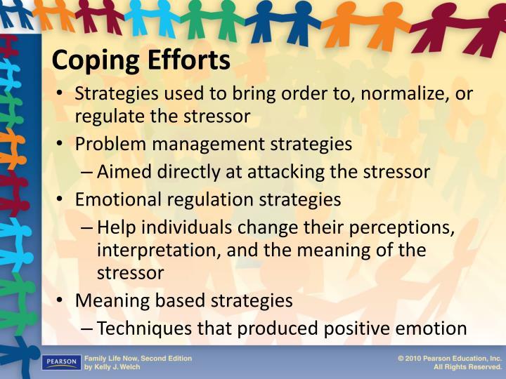 Coping Efforts
