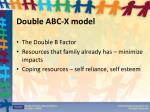 double abc x model1