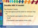 double abc x model2