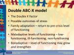 double abc x model3