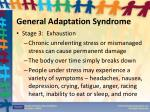 general adaptation syndrome2