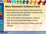 more domestic violence facts