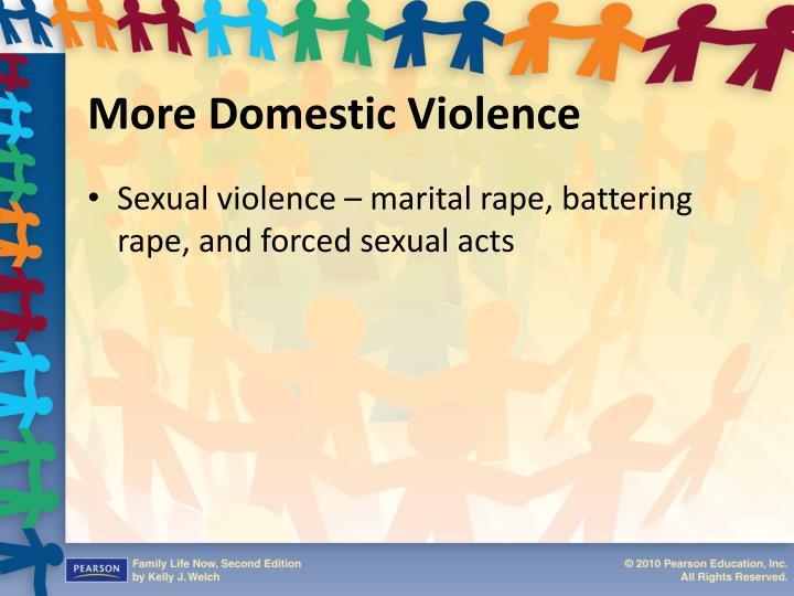 More Domestic Violence