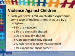 violence against children