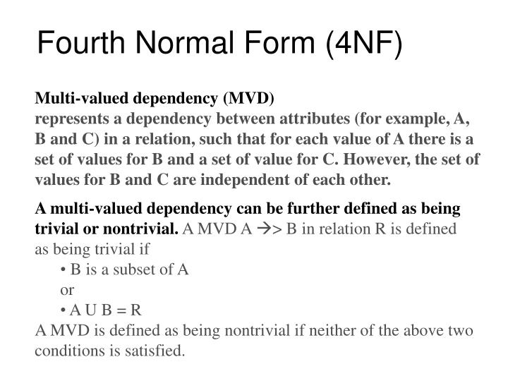 fourth-normal-form-4nf-n  Th Normal Form Example on domain/key normal form, third normal form, point slope form examples, slope-intercept form examples, exponential form examples, second normal form, sixth normal form, fifth normal form, first normal form, boyce–codd normal form, vertex form examples,