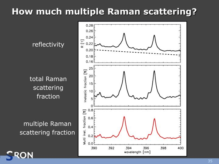 How much multiple Raman scattering?