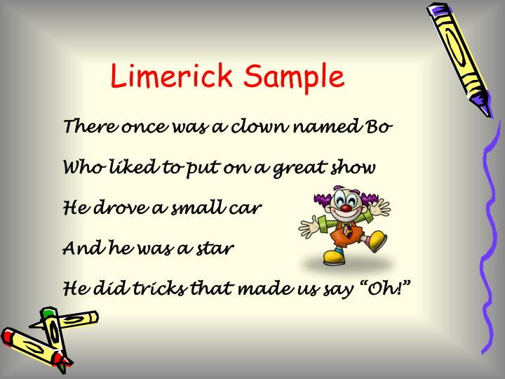 Limerick Sample