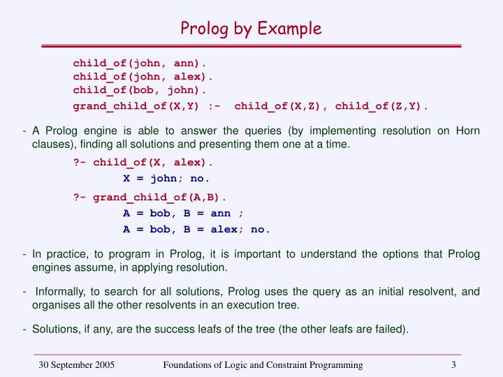Prolog by example2