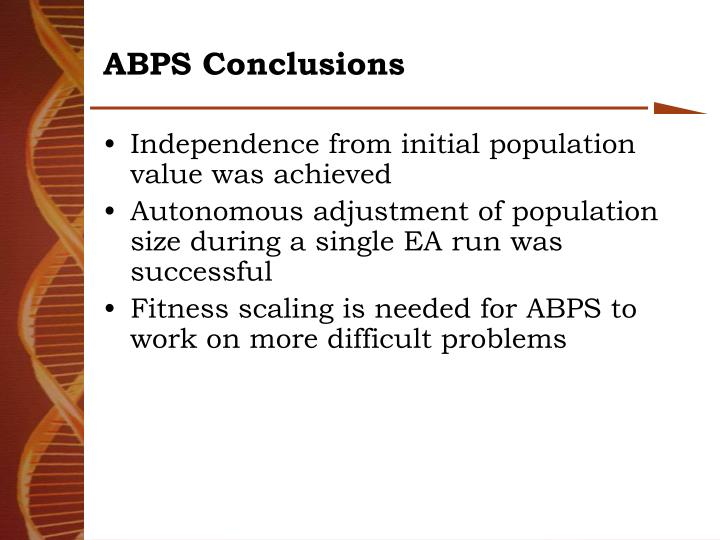ABPS Conclusions