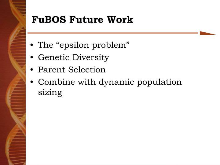 FuBOS Future Work