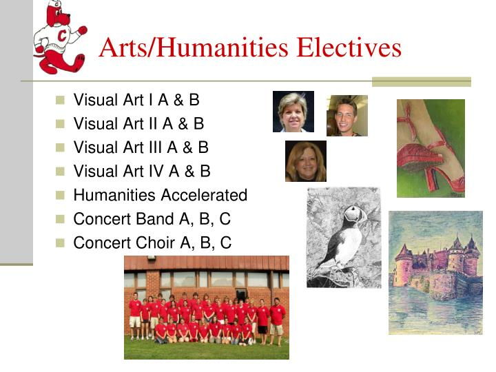 Arts/Humanities Electives