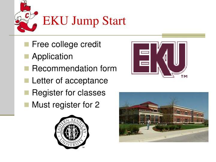 EKU Jump Start