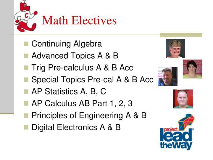 Math Electives