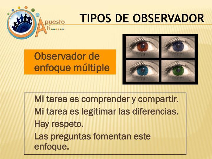Observador de enfoque múltiple