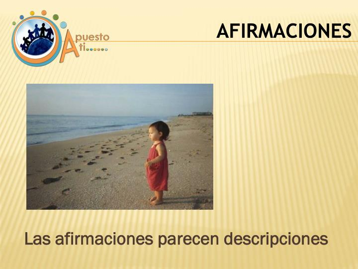 AFIRMACIONES