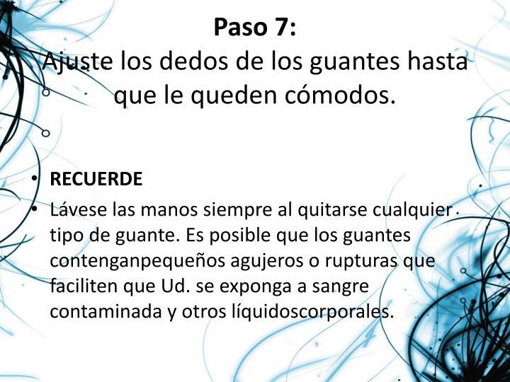 Paso 7: