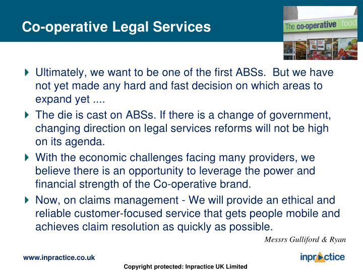 Co-operative Legal Services