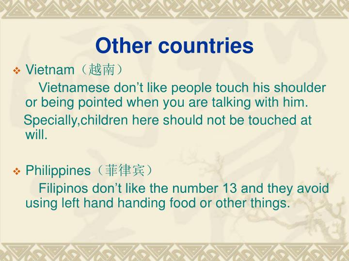 Other countries