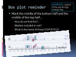 box plot reminder1