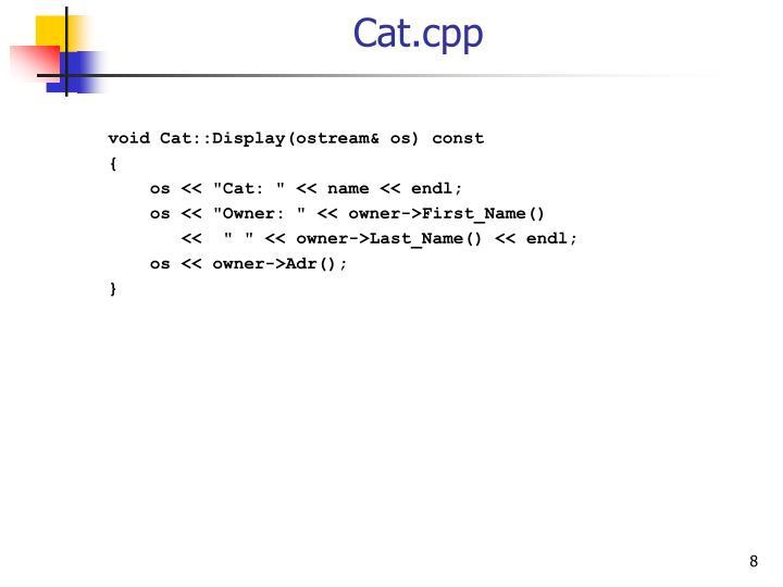 Cat.cpp