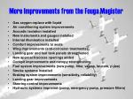more improvements from the fouga magister