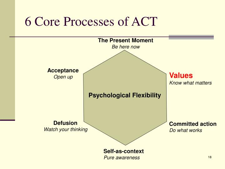 6 Core Processes of ACT