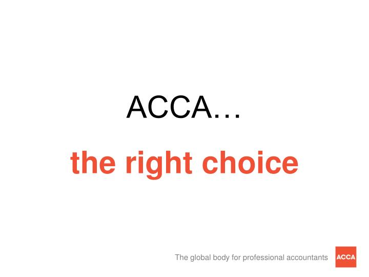 ACCA…
