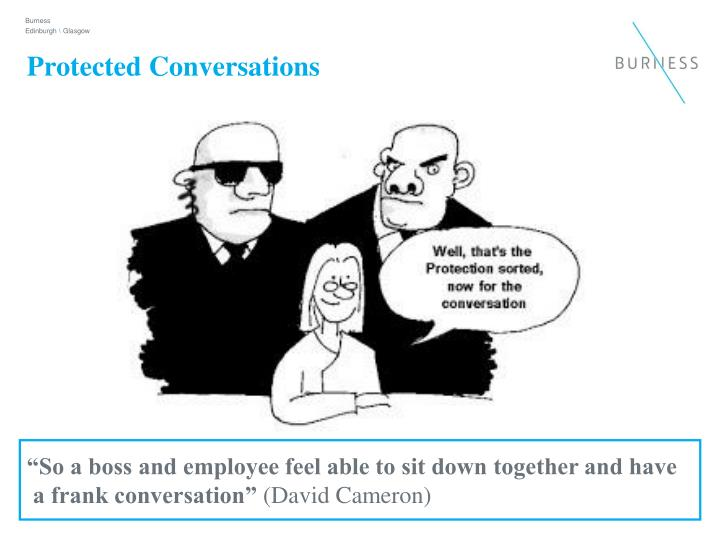 Protected Conversations