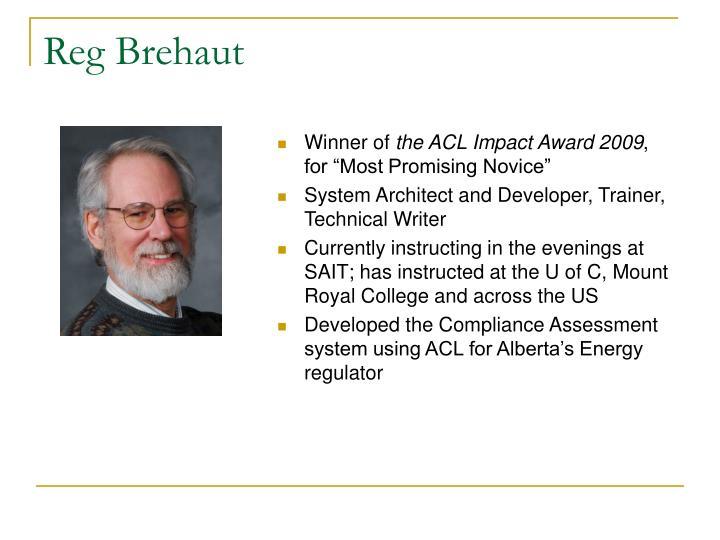 Reg Brehaut