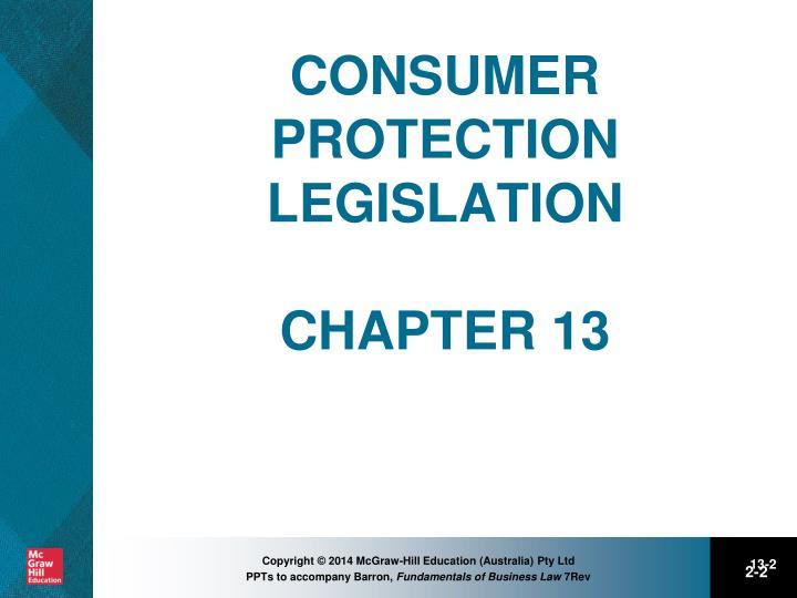 australian consumer protection legislation essay