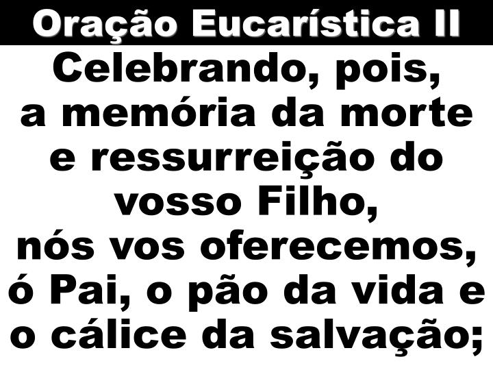 Oração Eucarística II