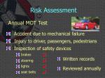 risk assessment2
