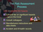 the risk assessment process2