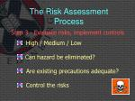 the risk assessment process5