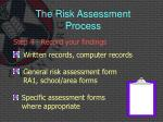the risk assessment process8