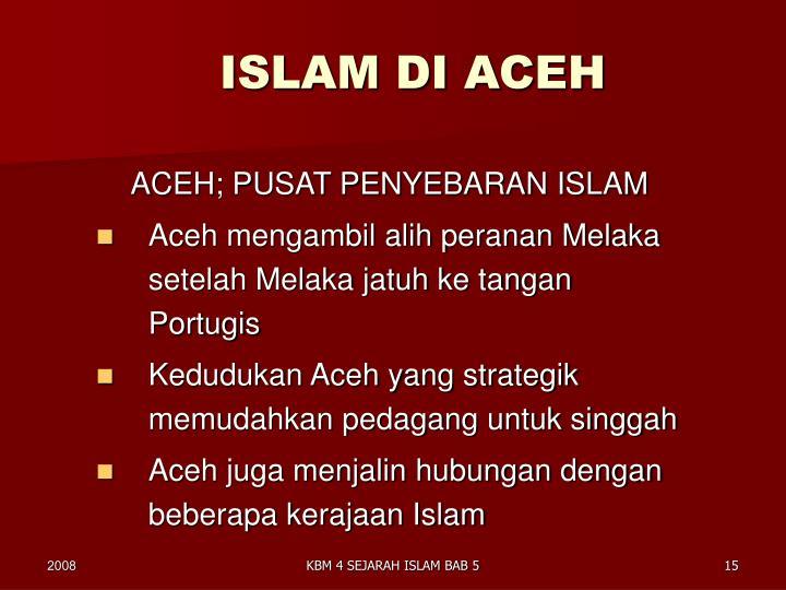 ISLAM DI ACEH