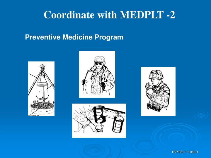 Coordinate with MEDPLT -2