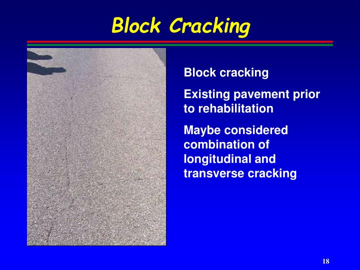 Block Cracking