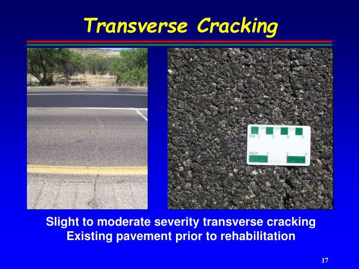 Transverse Cracking