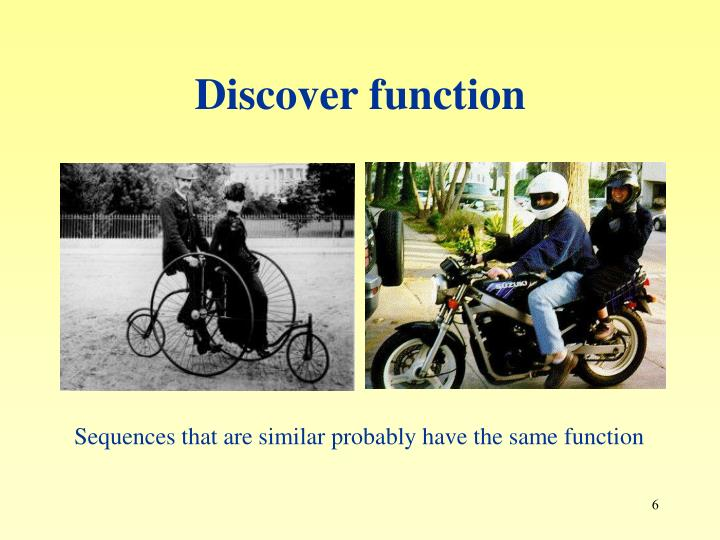 Discover function