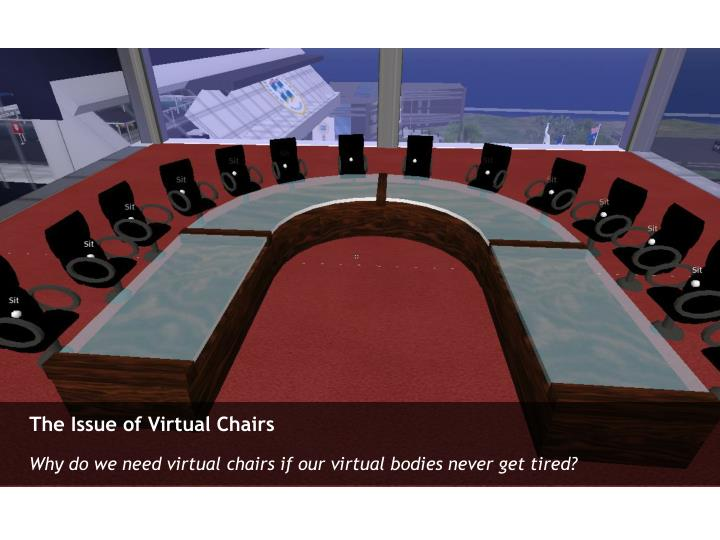 The Issue of Virtual Chairs