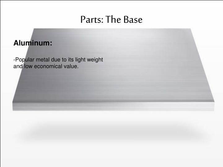 Parts: The Base