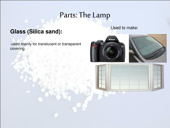 Parts: The Lamp
