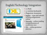english technology integration