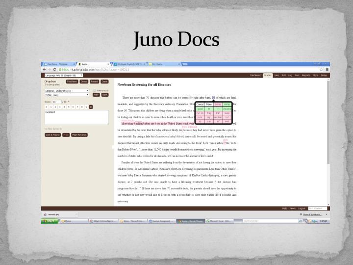 Juno Docs